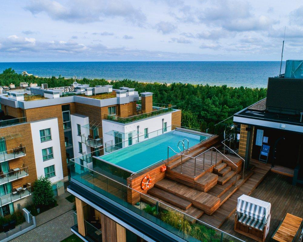 condohotel z widokiem na morze