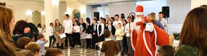 Spotkanie opłatkowe osób niepełnosprawnych już po raz 5 w Dworze Czarneckiego