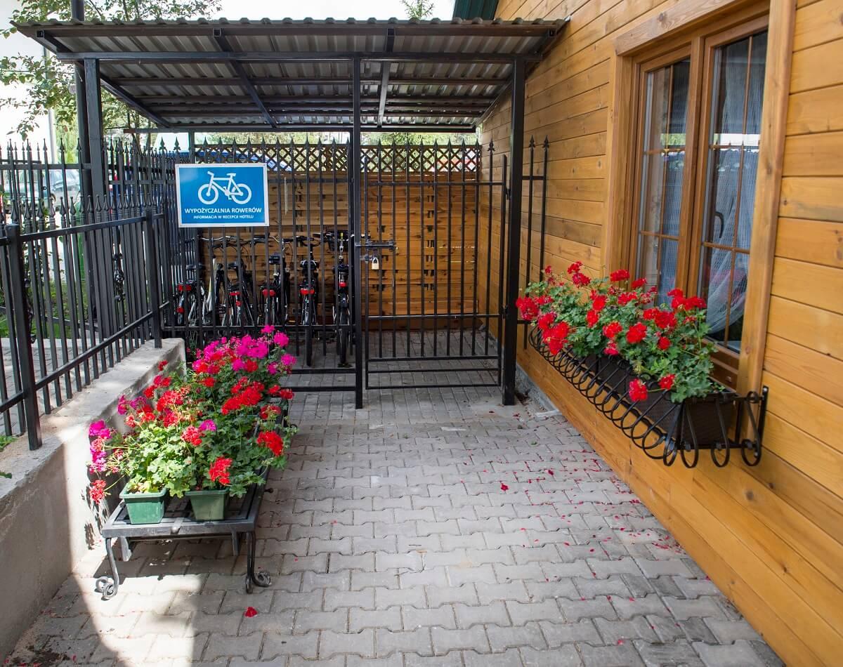 Rowery - hotel Dwór Czarneckiego