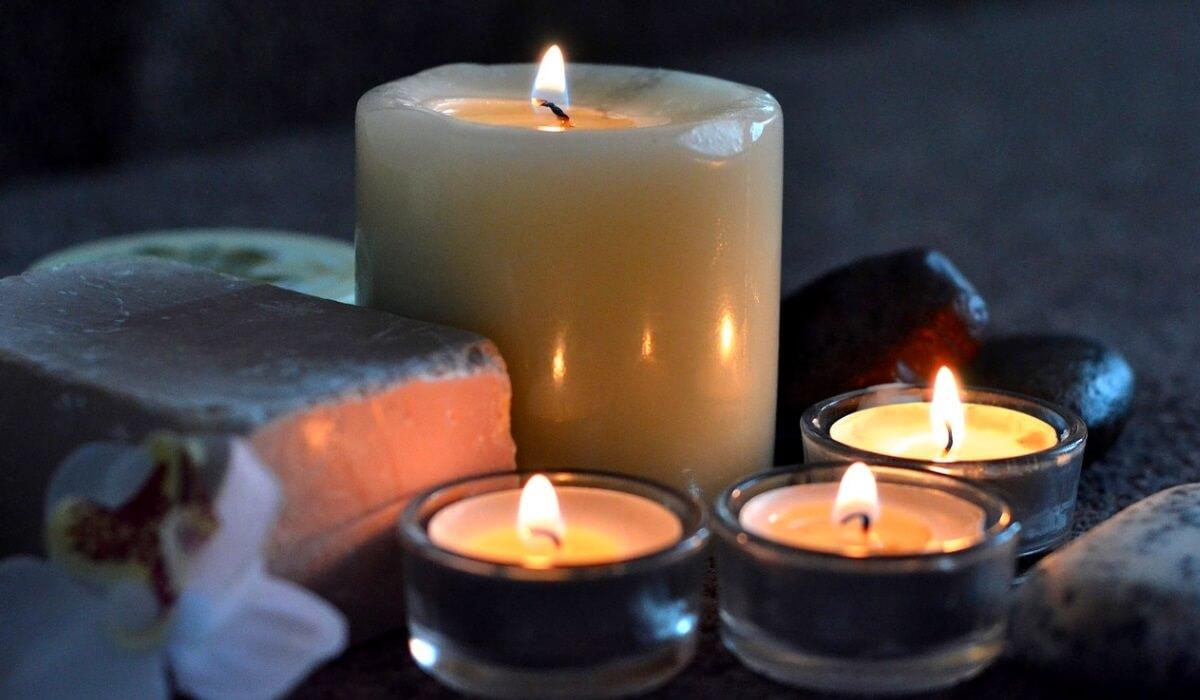 Świece relaksacyjne - Pakiet Spa Wyciszający Relaks