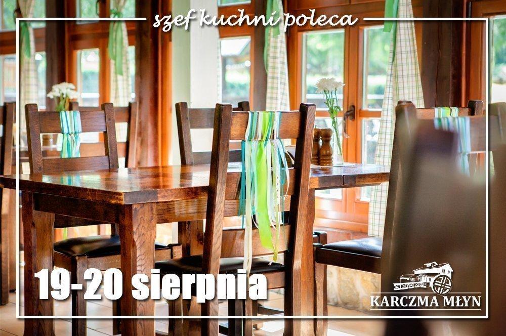 19-20 sierpnia Szef Kuchni Poleca