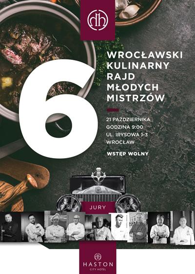 Wrocławski Kulinarny Rajd MIstrzów 2021
