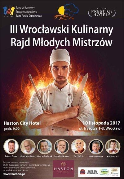 III Wrocławski Kulinarny Rajd Młodych Mistrzów
