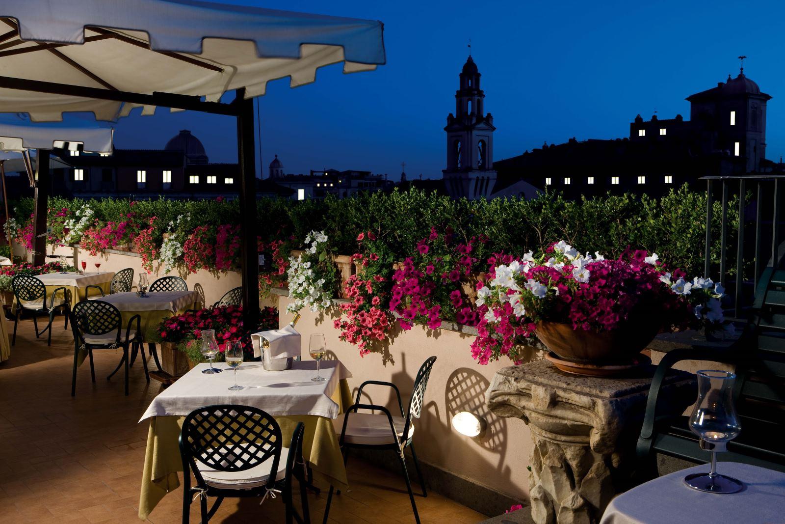 hotel garden roma: