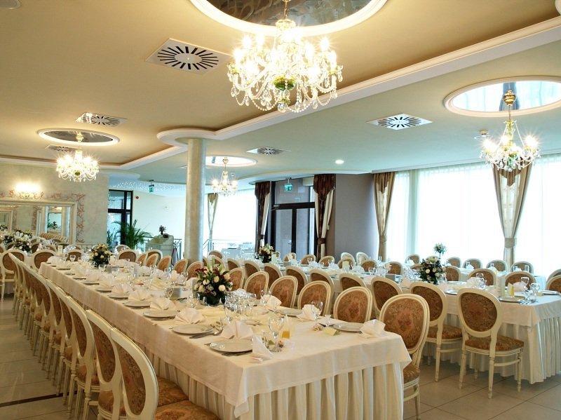 Sala Weselna Stoczek Łukowski ~ Sala bankietowa  Hotel Fajkier Wellness & Spa