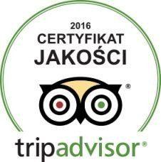 Certyfikat Jakości - Trip Advisor