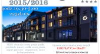 2015-10-11 - Sylwester 2015/2016 w Hotelu Grafit****