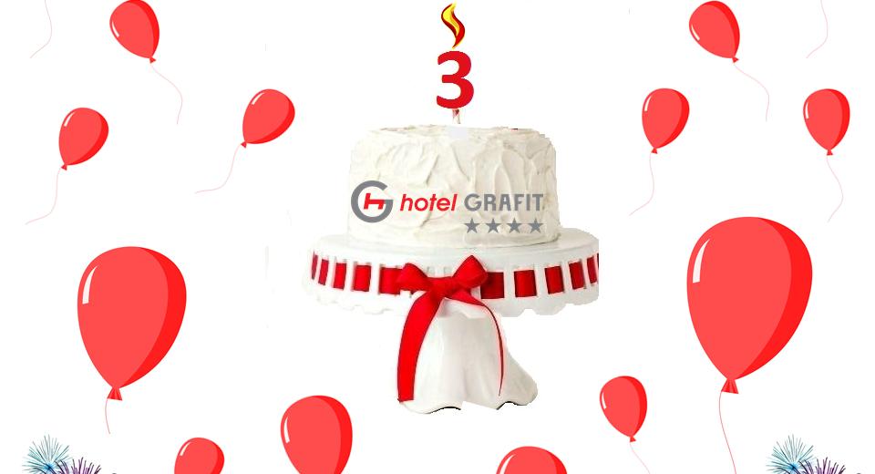 3 urodziny Hotelu Grafit****