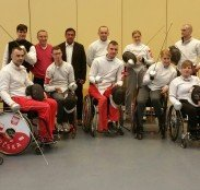 Reprezentacja paraolimpijska w szermierce na wózkach odwiedziła Hotel Ossa