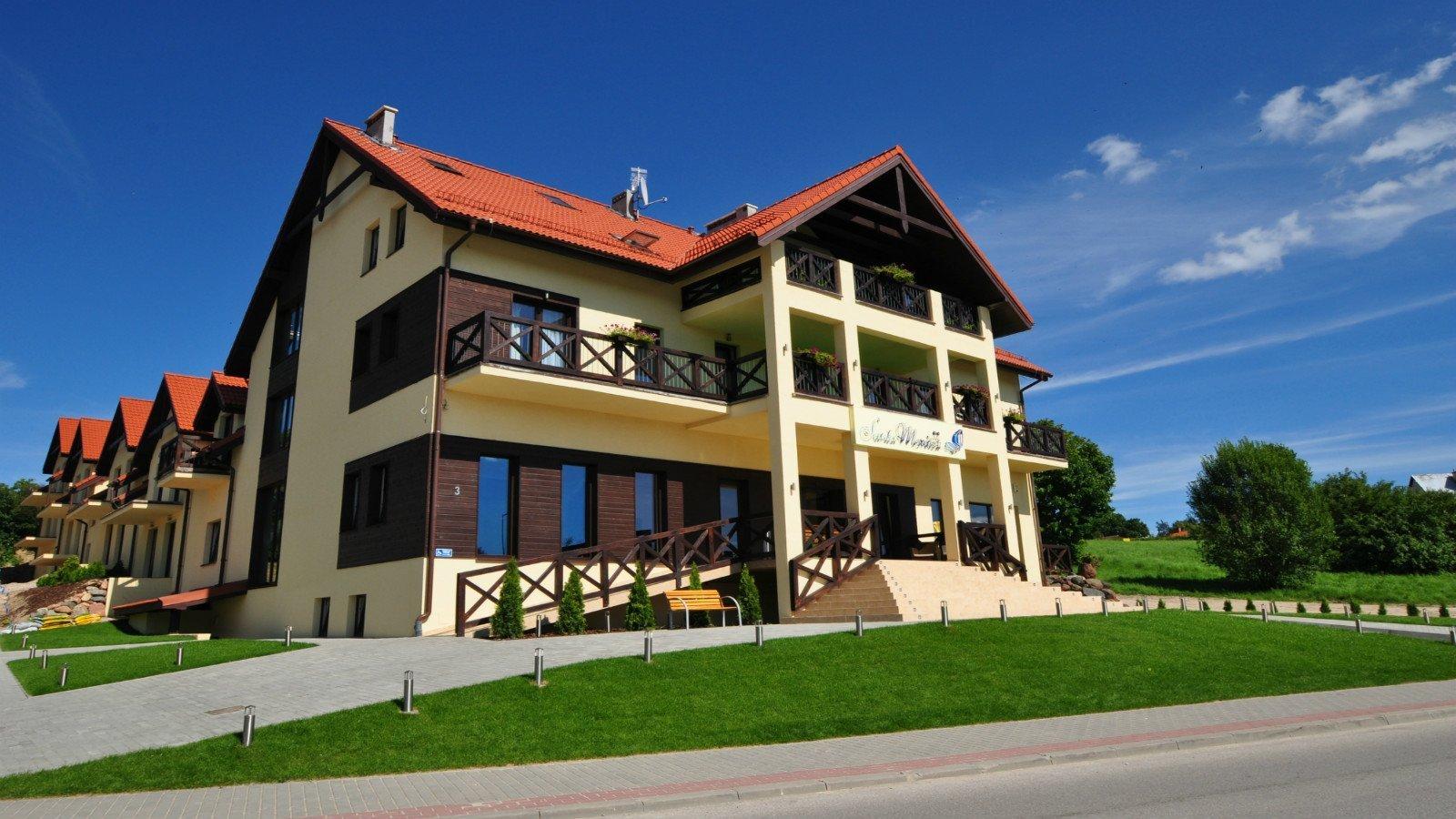 Hotel Santa Monica w Mikołajkach - zapraszamy na noclegi na Mazurach!