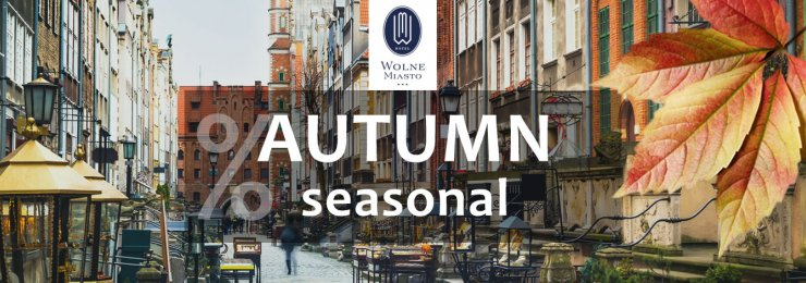 Discover the autumn colours with Wolne Miasto Hotel