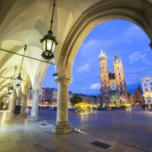 Guided tours of the Krakow