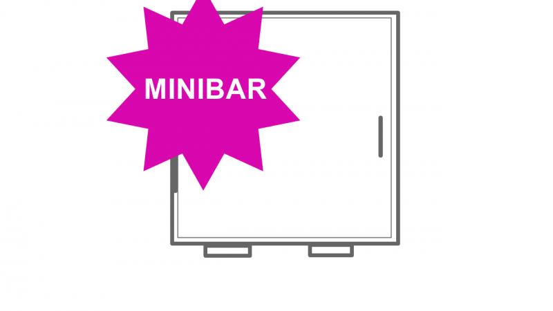 1 x Minibar