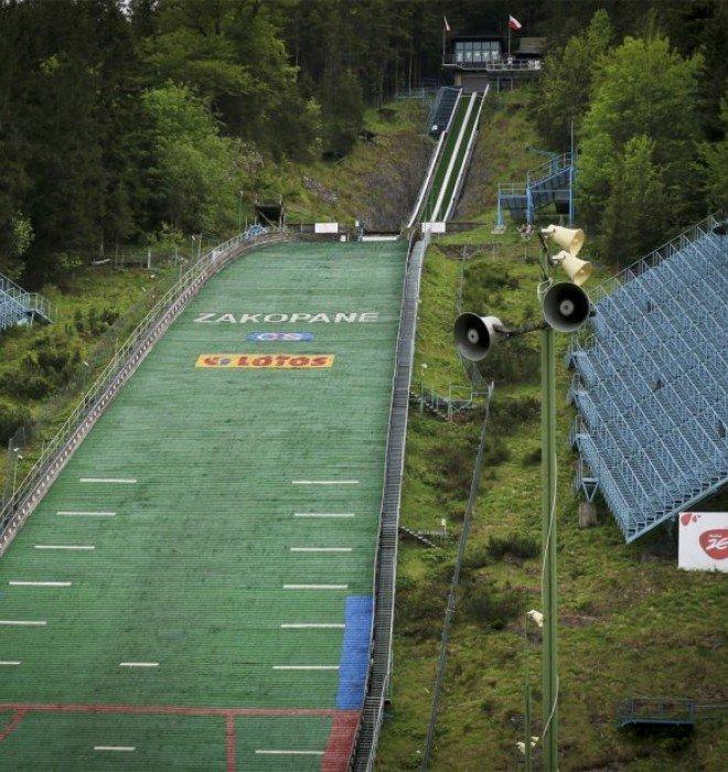 The Great Krokiew ski jump