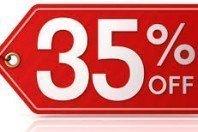 25.06.2015 - Niedziela z rabatem -35%