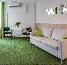 nowoczesne pokoje hotel Wilga