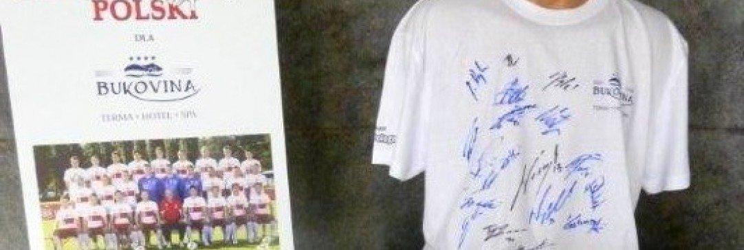 Pokaż jak kibicujesz  i wygraj koszulkę z autografami reprezentacji Polski na Euro 2012