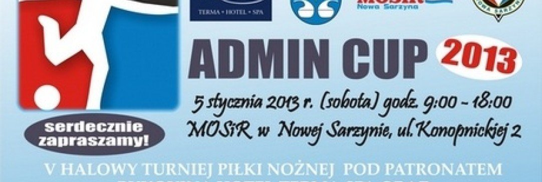 BUKOVINA Terma Hotel Spa patronem turnieju Admin Cup 2013