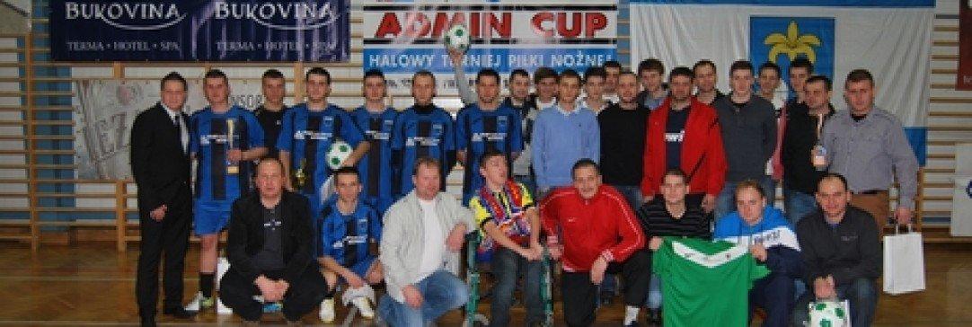 Drużyna JKS Jarosław wygrała turniej Admin Cup 2013 i odwiedzi Termę Bukovina