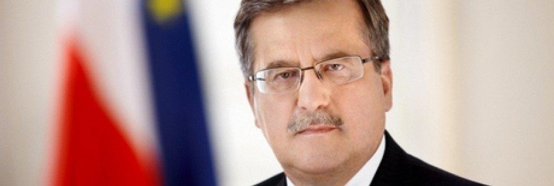Prezydent Bronisław Komorowski odwiedzi BUKOVINA Terma Hotel Spa