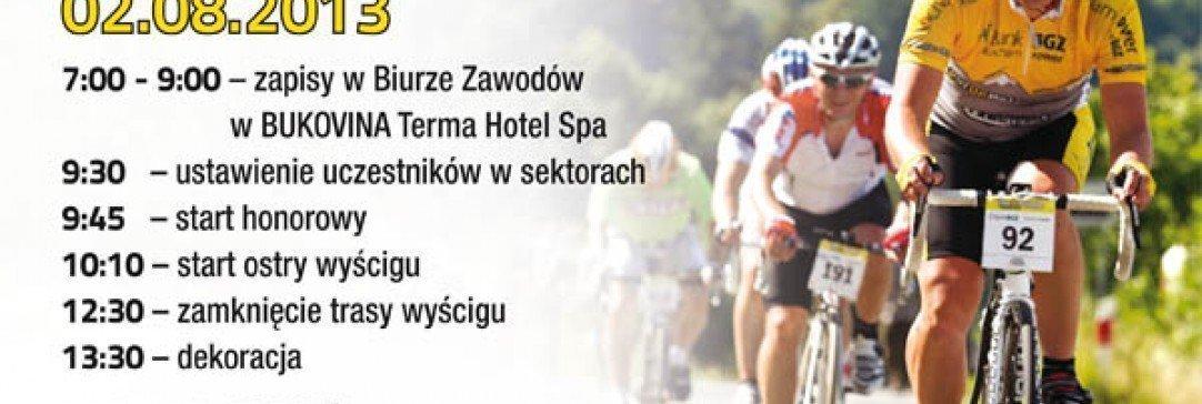 Tour de Pologne Amatorów w BUKOVINA Terma Hotel Spa