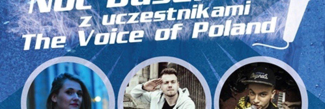"""Noc Basenów z uczestnikami """"The Voice od Poland"""""""